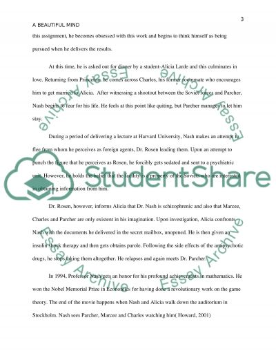 Goals In Life Essay Reflective Case Study On The Movie A Beautiful Mind How To Write Proposal Essay also How To Write A Creative Writing Essay Reflective Case Study On The Movie A Beautiful Mind Essay Aboriginal Rights Essay
