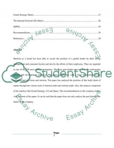 STRATEGIC MANAGEMENT(MBA) essay example