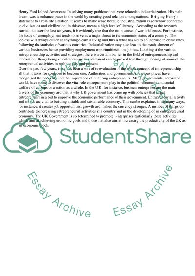 History Essay - Analytical