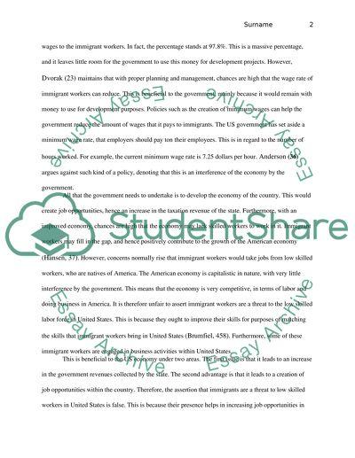 Immigration essay topics