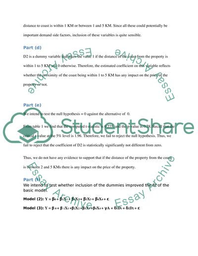 ECMT Assignment