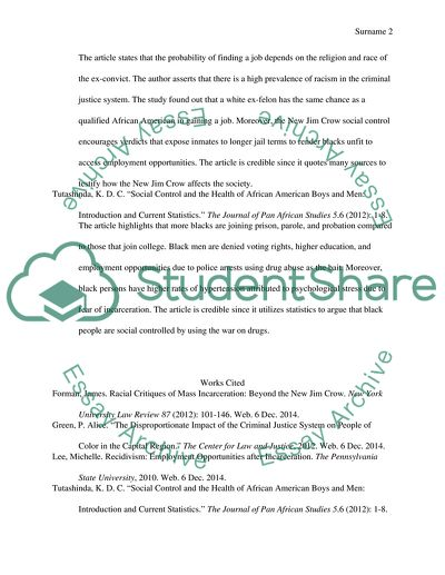 Annotated Bibliography with 5 sources (you need at least 3 for your final essay) 100