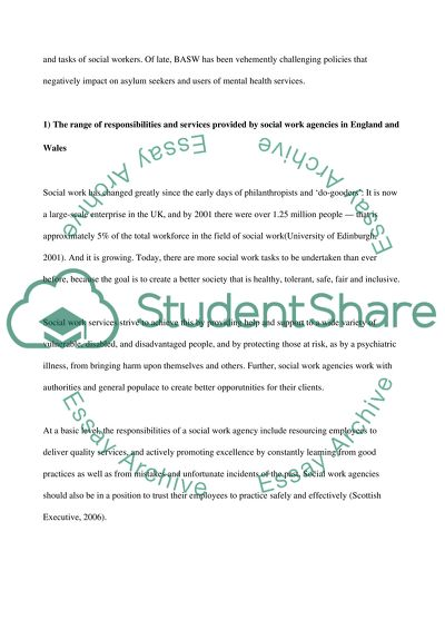 World War 1 Causes Essay Role Of Social Workers Components Of An Essay also Funny Satire Essays Role Of Social Workers Essay Example  Topics And Well Written  Essay About Educational Goals