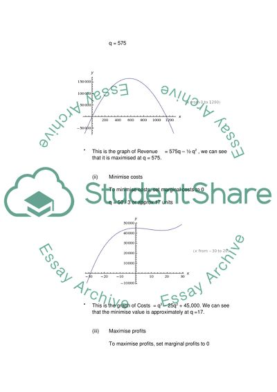 Math Exercises essay example