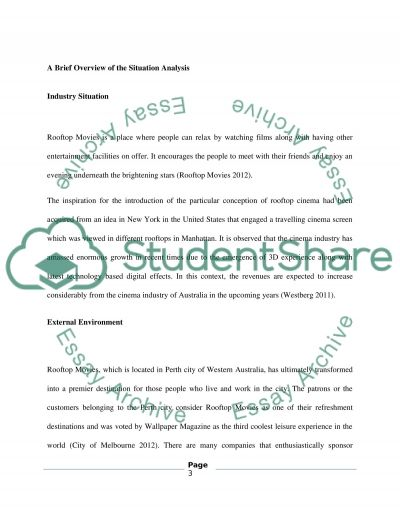 Marketing service essay
