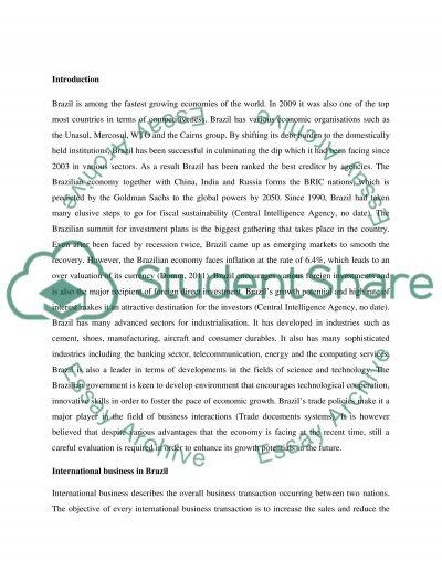 Assignment 1: Destination Recent Development for Study Trip essay example