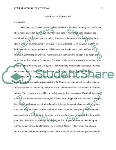 similarities essay example