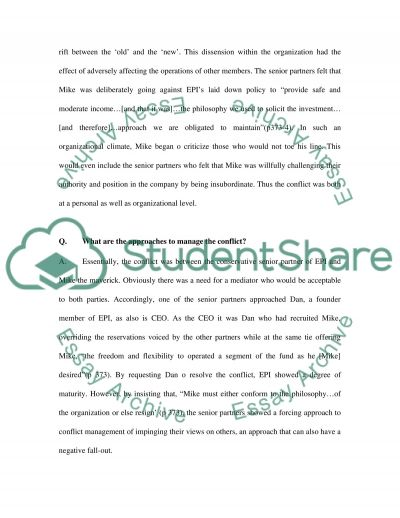 Dan And Mike essay example
