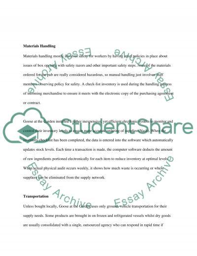 Strategic Supply Chain Managemnt essay example
