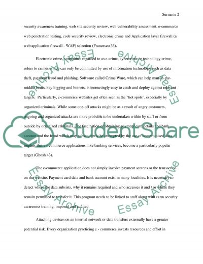 ecommerce essay