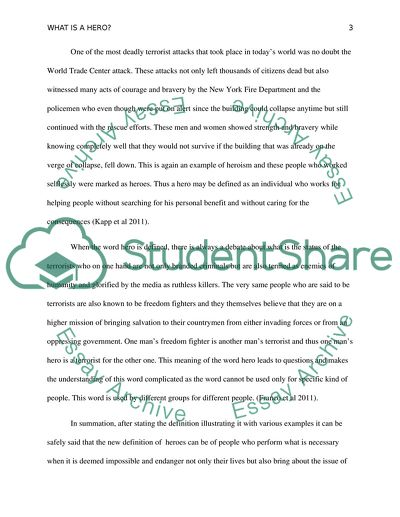 Personal core values essay