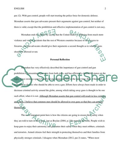 Research Essay Papers Why Gun Control Is Not Enough By Jeff Mcmahan Persuasive Essays Examples For High School also How To Start A Business Essay Why Gun Control Is Not Enough By Jeff Mcmahan Essay Argumentative Essay Thesis Examples