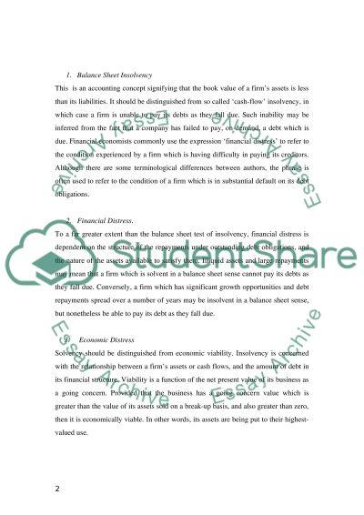 Insurance regulation essay example
