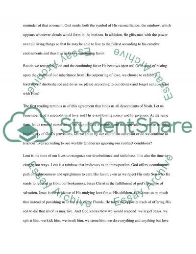 The Way to Salvation Essay example