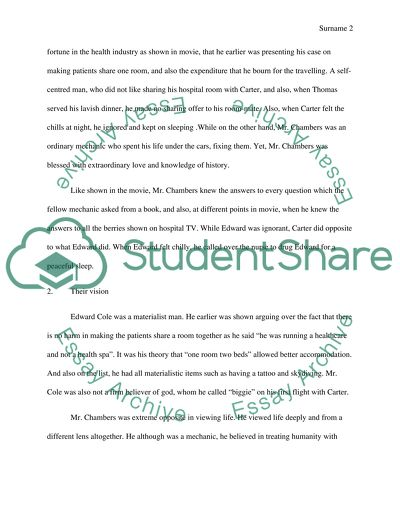 English 101 Essay  Essays About Business also Proposal Essay Topics Ideas Compare  Contrast Essay On Movie The Bucket List Persuasive Essay Topics For High School