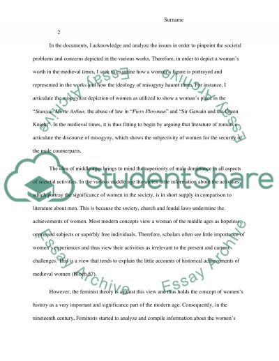 example of a literature essay