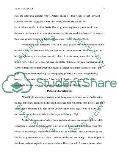 Developing a teaching plan