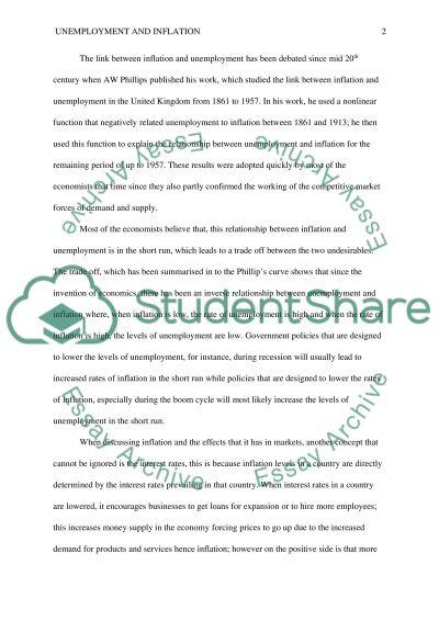 Economic analysis essay example