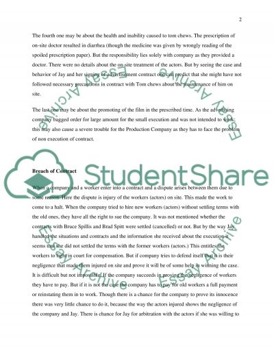 Law Assignment essay example