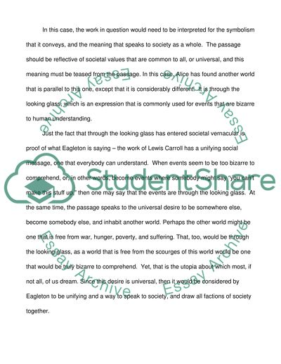 English Literary Criticism Essay Example Topics And Well Written