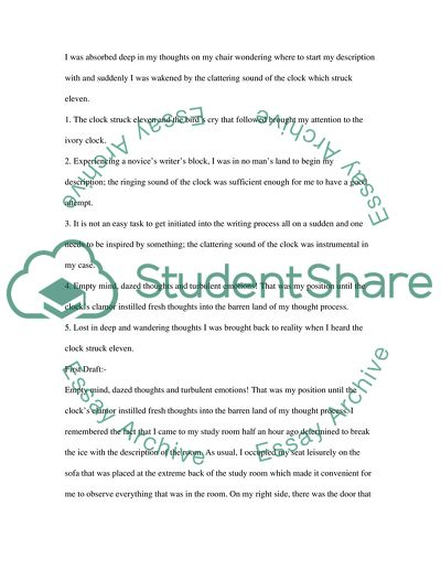 description of my favorite study room essay example  topics and  description of my favorite study room