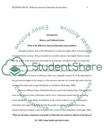 Student essays communism