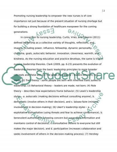 Self-analysis of Leadership Behaviors and Strengths essay example