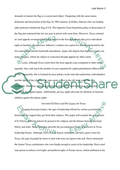 Response essay over 2 articles