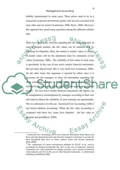 Accounting essay topics