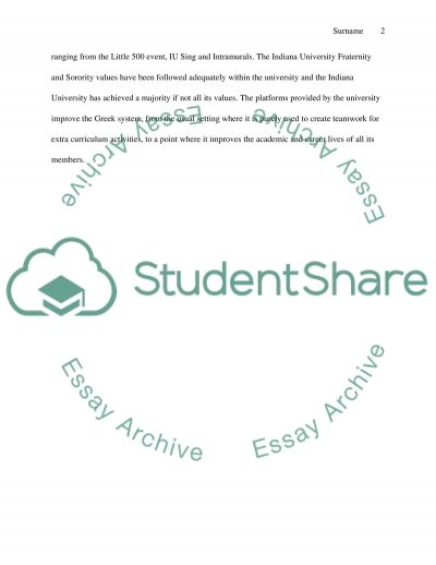 Journal #3 essay example