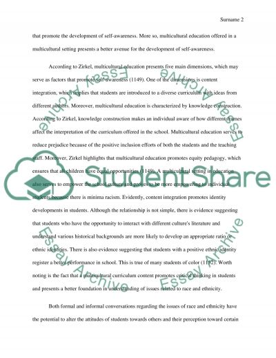 International peacebuilding and the Role of Education essay example