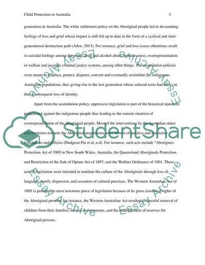 Child protection essay