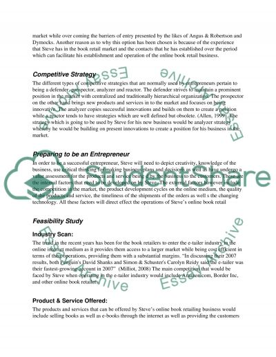Developing & Managing the Enterprise essay example