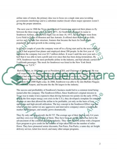 Servicemarketing essay example
