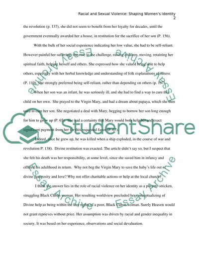 Interesting Persuasive Essay Topics For High School Students Racial And Sexual Violence Shaping Womens Identity High School Sample Essay also Science Essay Questions Racial And Sexual Violence Shaping Womens Identity Essay Essay On Health Promotion