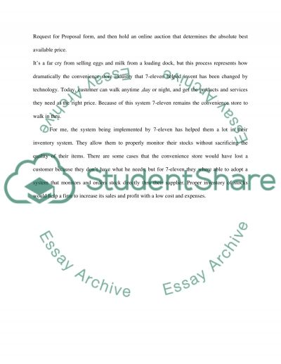 Operation anagement essay example