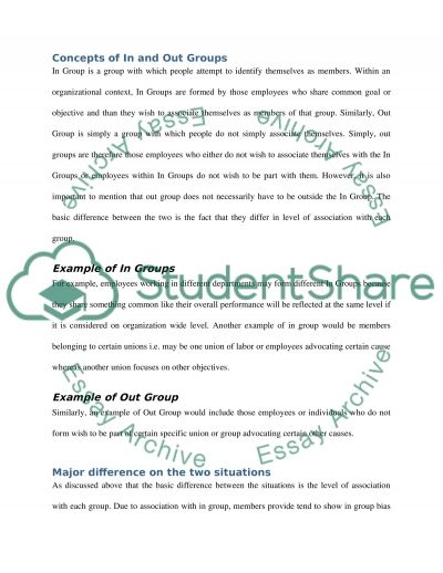 Contingency Model (IP) essay example