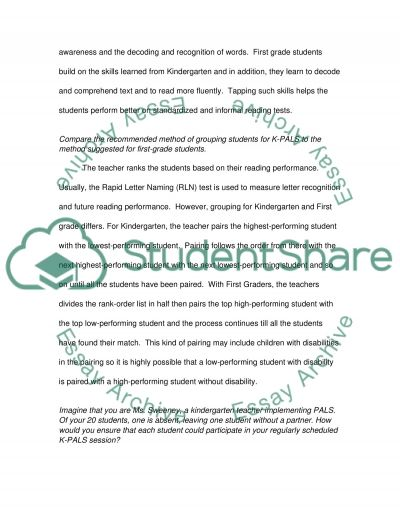 Iris Center Learning Module Paper essay example