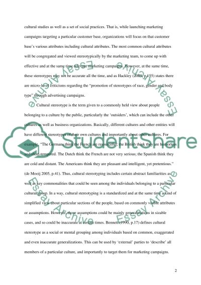 Marketing - Critical Marketing Essay example