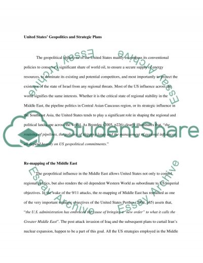 International Relations paper essay example