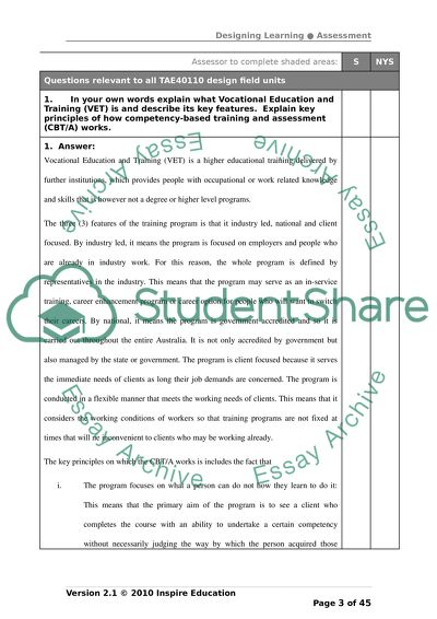 College Essay Papers Certificate Training And Assesment Tafe Essay Science also English Essay Example Certificate Training And Assesment Tafe Essay Example  Topics And  Causes Of The English Civil War Essay