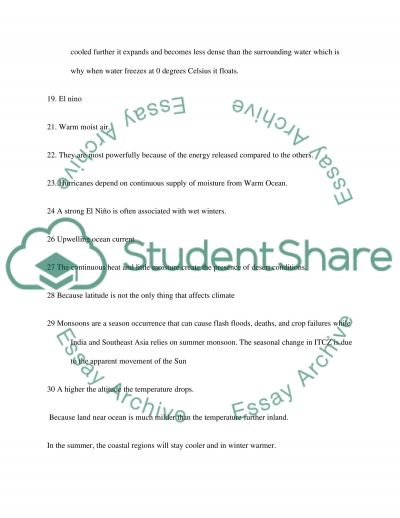 Planet Earch essay example