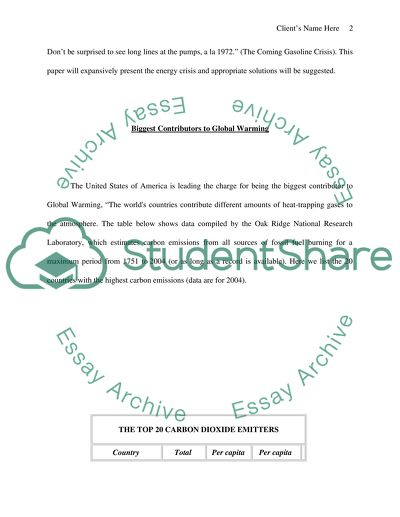 Alternative Energy Essay Example  Topics And Well Written Essays  Alternative Energy Essays Topics For High School Students also An Essay On English Language  Compare And Contrast Essay Topics For High School