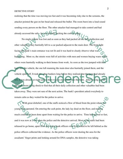 Detective Story Paper