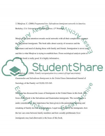 Sociology, essay example