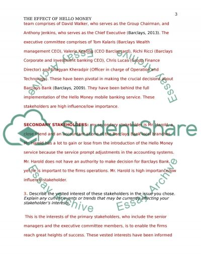 Hallo Money and its impact on the on the accounting workplace essay example