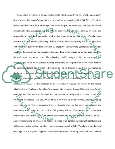 Term Paper Essay  Sample Essay Topics For High School also Business Format Essay Does Living Offon Campus Really Depend Upon That Students  Apa Format Essay Paper