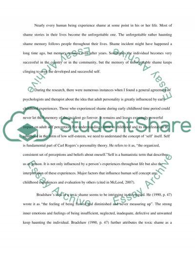 Self perception essay