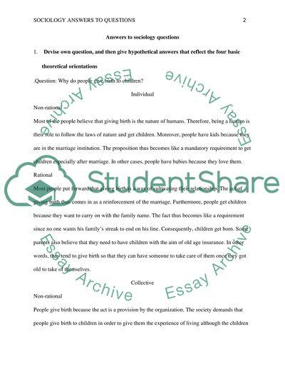 12 Essay Questions