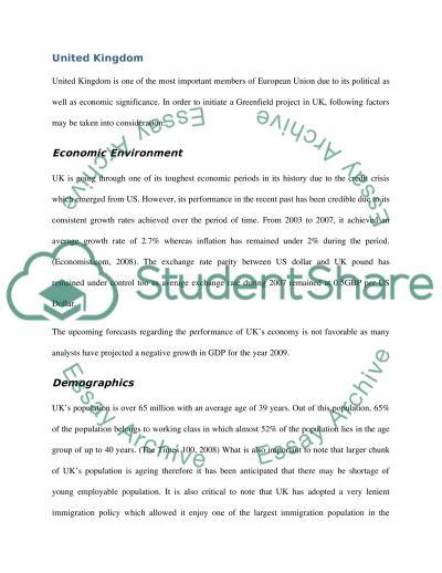 International Financial Markets College Essay essay example
